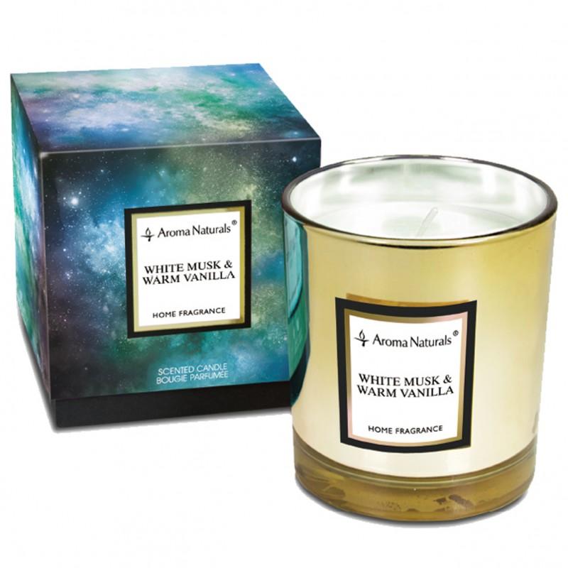 Aroma Naturals Svíčka Electrum - Bílé pižmo a horká vanilka