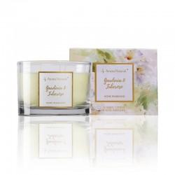 Aroma Naturals Velká svíčka Fleur - Gardenie a tuberóza