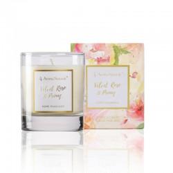 Aroma Naturals Svíčka Fleur - Sametová růže a pivoňka