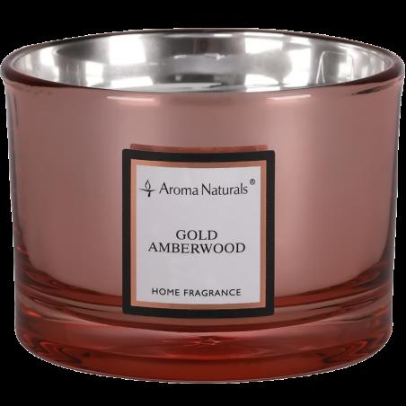 Aroma Naturals Svíčka Electrum - Zlaté jantarové dřevo velká
