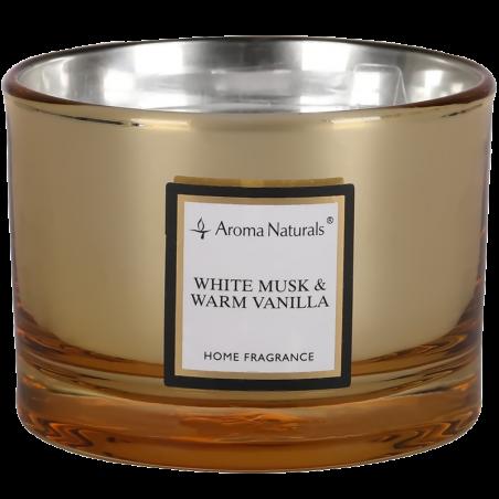 Aroma Naturals Svíčka Electrum - Bílé pižmo a horká vanilka velká