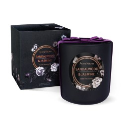 Aroma Naturals Svíčka Noir - Santalové dřevo a jasmín