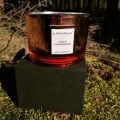 """Vonná sójová svíčka Zlaté jantarové dřevo z kolekce 🌌⚡ELECTRUM⚡🌌 Tato kolekce je výjimečná svým """"elektrizujicim"""" designem - dózy s 🌠metalickými🌠 odlesky a krabičky inspirované motivem vesmiru🛸🪐⭐#svicky #svicka #sojovasvicka #sojovyvosk #relax #interier #vesmir #space #drevo #jantar #zlato#zlaty #les #vune #kolekce #cervena#odlesky#metalicke #odpocinek #candles #aromanaturals #denmatek #mdz"""