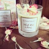 🌸🌺🌷🌹FLEUR🌹🌷🌺🌸#vonnyvosk #svicka #svicky #fleur#kvetiny #sojovesvicky #květiny #ruze #pivoňka #vune #aromanaturals #ruzova #ruze #drevo #baleni #knot #interier #dekorace #relax #domov #listky #homefragrance