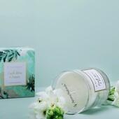 Vonná sójová svíčka s vůní Čerstvých květin a frézie z kolekce FLEUR - okouzlující a omamná vůně květin jako je jasmín, frézie, šeřík a hyacint.  Svíčky jsou v průhledných dózách z pevného skla doplněné o zlatý nápis a lemování. Balené jsou v elegantních dárkových krabičkách s květinovým motivem. Tato kolekce udělá radost všem milovníkům květin.  #aromanatural #vonnyvosk #svicka #svicky #fleur #kvetiny #kvetinovymotiv #baleni #aromanaturals #sklo #interier #domov #relax #zahrada #vosk #sojovasvicka #elegance #okouzlujici #knot #ovoce #broskev #more #serik #frezie #jasmin #lilie #hyacint #sladkepizmo #ruze